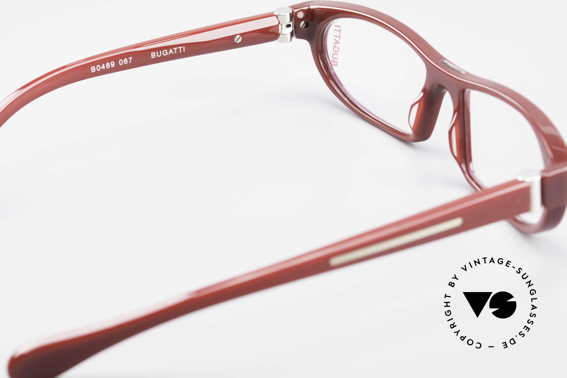 Bugatti 489 Sporty Designer Eyeglasses, the frame is made for optical lenses / sun lenses, Made for Men