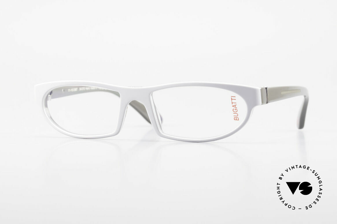 Bugatti 489 Striking Designer Eyeglasses, striking high-tech eyeglass-frame by BUGATTI, Made for Men