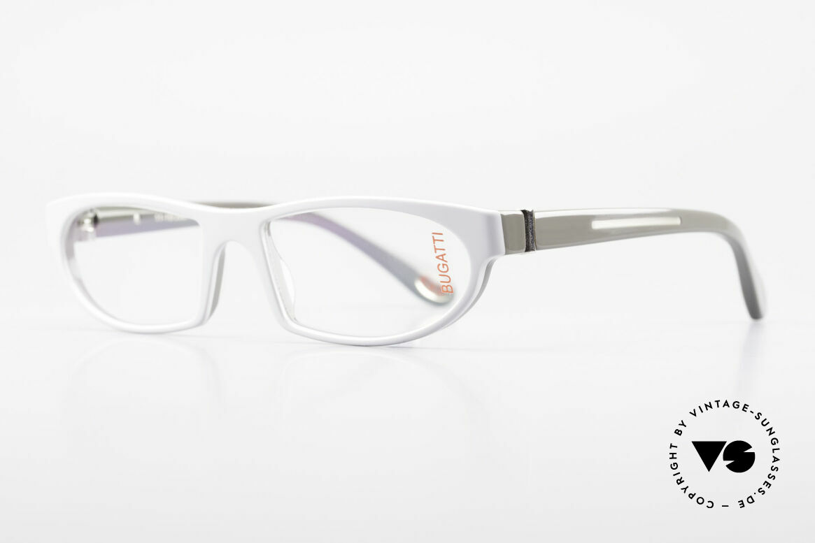Bugatti 489 Striking Designer Eyeglasses, 1. class wearing comfort due to spring hinges, Made for Men