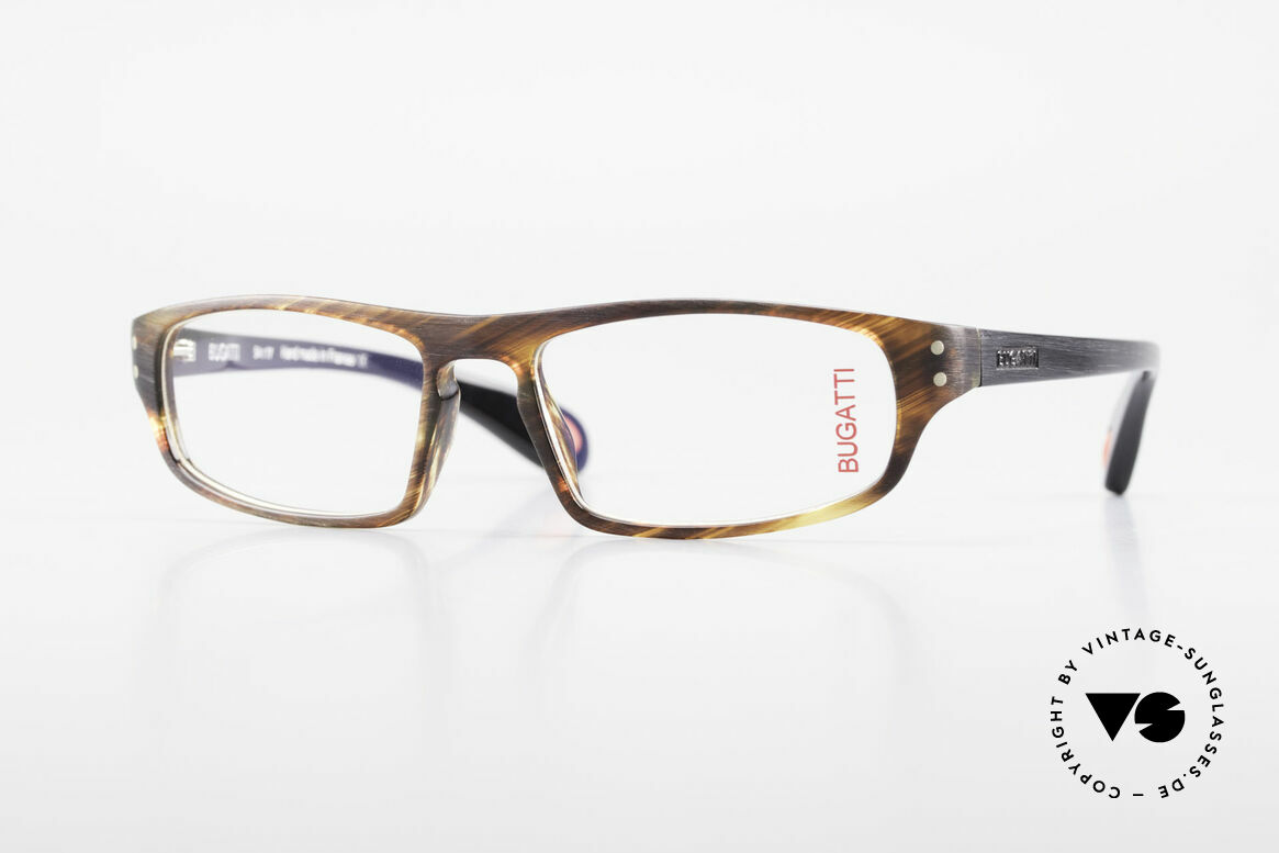 Bugatti 430 Classic Men's Glasses Vintage, striking gentlemen's eyeglasses by BUGATTI, Made for Men