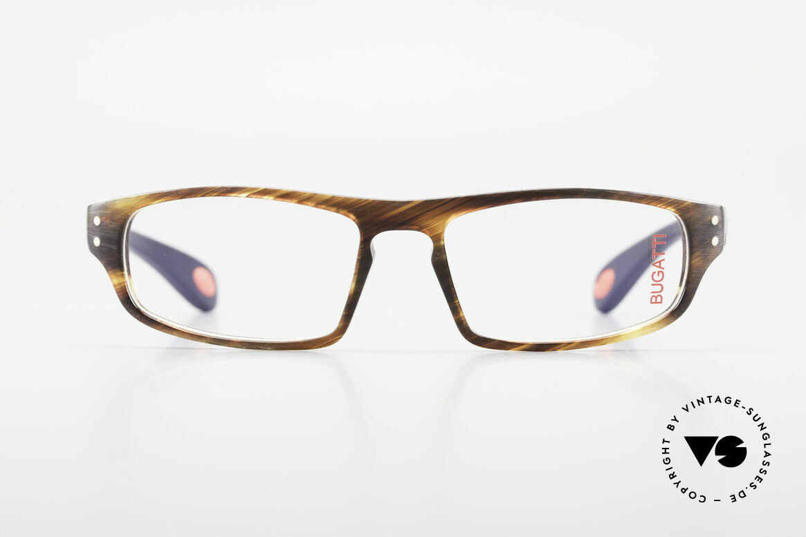 Bugatti 430 Classic Men's Glasses Vintage, TOP-NOTCH quality of all frame components, Made for Men