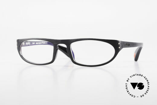 Bugatti 432 Vintage Glasses Classic Black Details