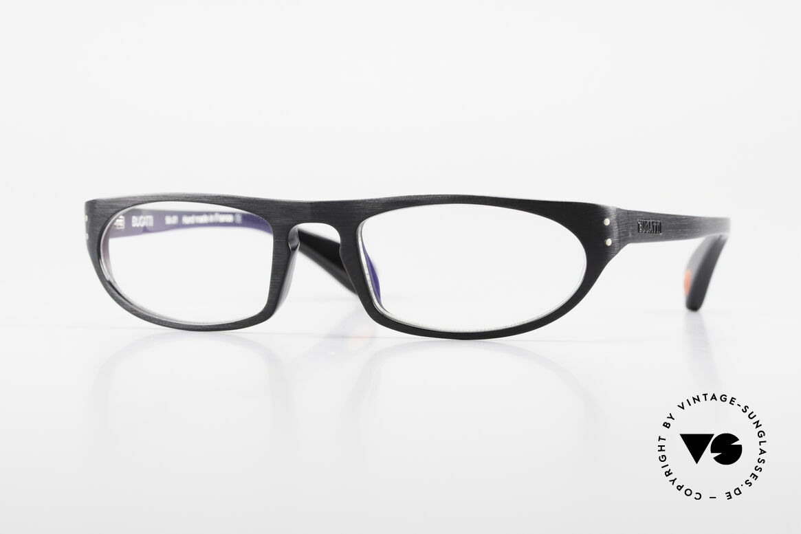 Bugatti 432 Vintage Glasses Classic Black, striking gentlemen's eyeglasses by BUGATTI, Made for Men