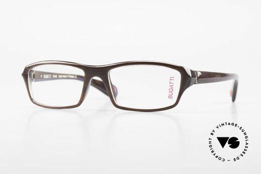 Bugatti 471 Vintage Designer Glasses Men Details