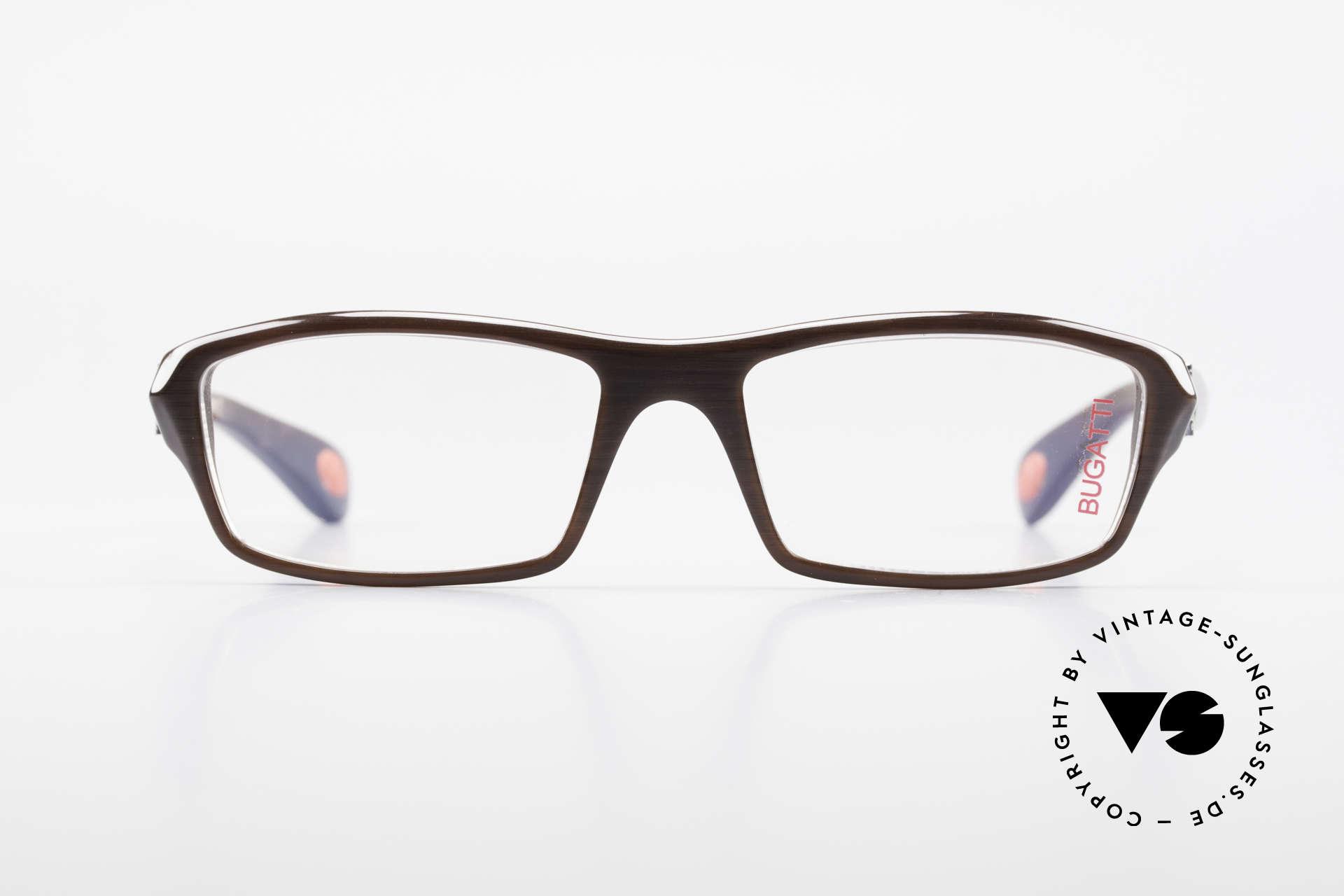 Bugatti 471 Vintage Designer Glasses Men, TOP-NOTCH quality of all frame components, Made for Men