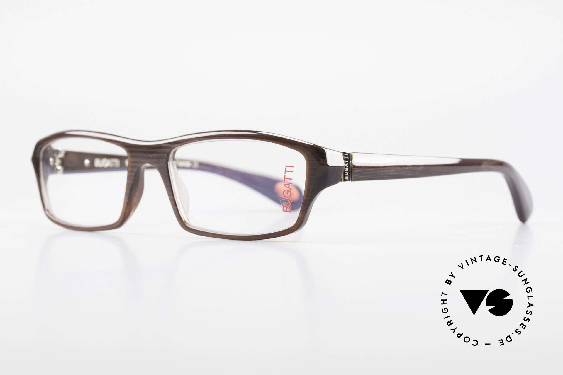 Bugatti 471 Vintage Designer Glasses Men, 1. class wearing comfort due to spring hinges, Made for Men