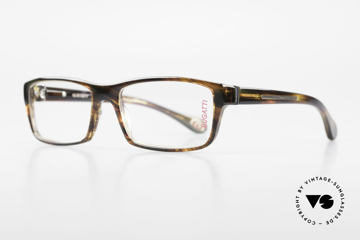 Bugatti 487 Striking Designer Eyeglasses, 1. class wearing comfort due to spring hinges, Made for Men