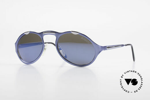 Bugatti 13164 Limited Rare Luxury 90's Sunglasses Details