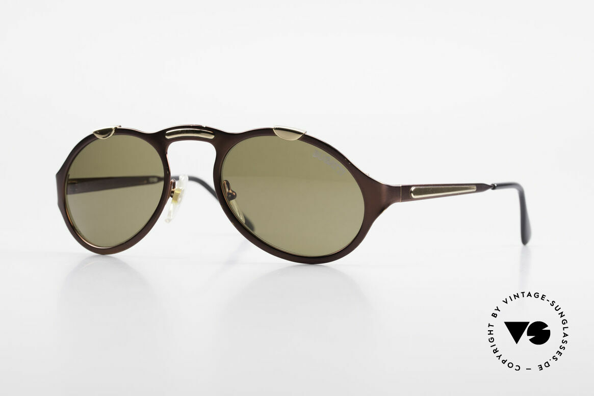 Bugatti 13169 Limited Old Collector's Sunglasses, very elegant BUGATTI vintage designer sunglasses, Made for Men