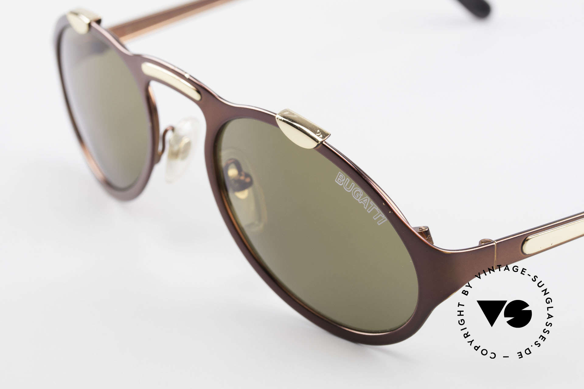 Bugatti 13169 Limited Old Collector's Sunglasses, pair is slightly DAMAGED (was stored incorrectly)!, Made for Men