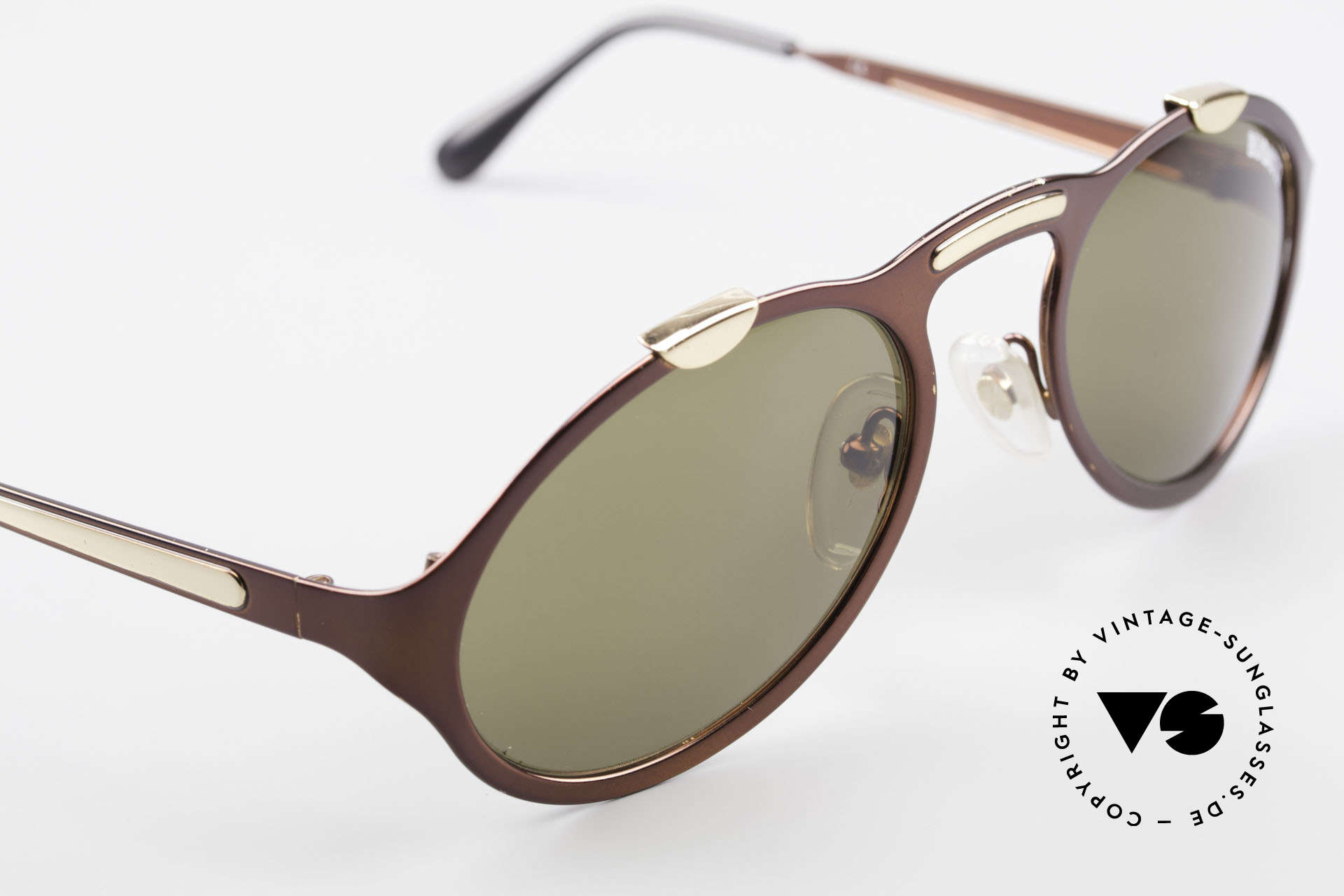 Bugatti 13169 Limited Old Collector's Sunglasses, frame has some chips & lenses have small scratches, Made for Men