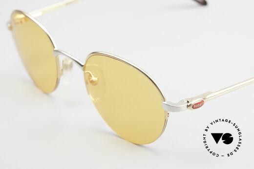 Bugatti 26658 90s Panto Designer Sunglasses