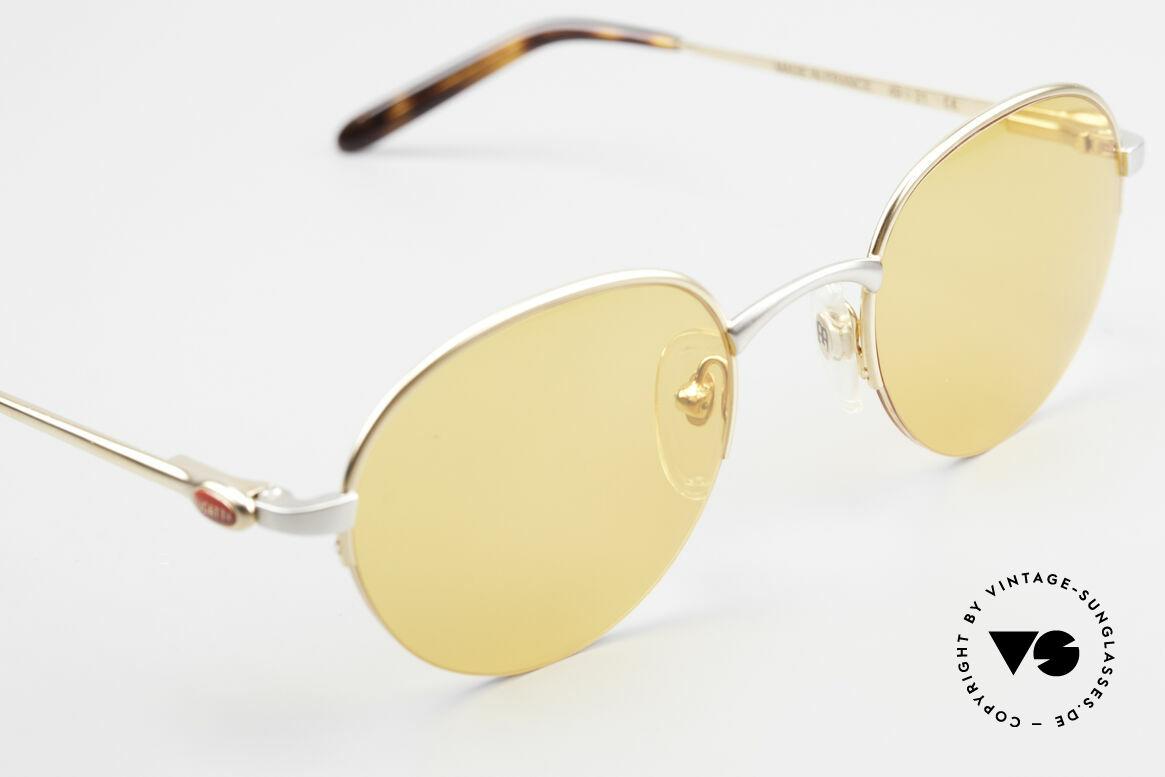 Bugatti 26658 90s Panto Designer Sunglasses, unworn (like all our rare vintage Bugatti sunglasses), Made for Men