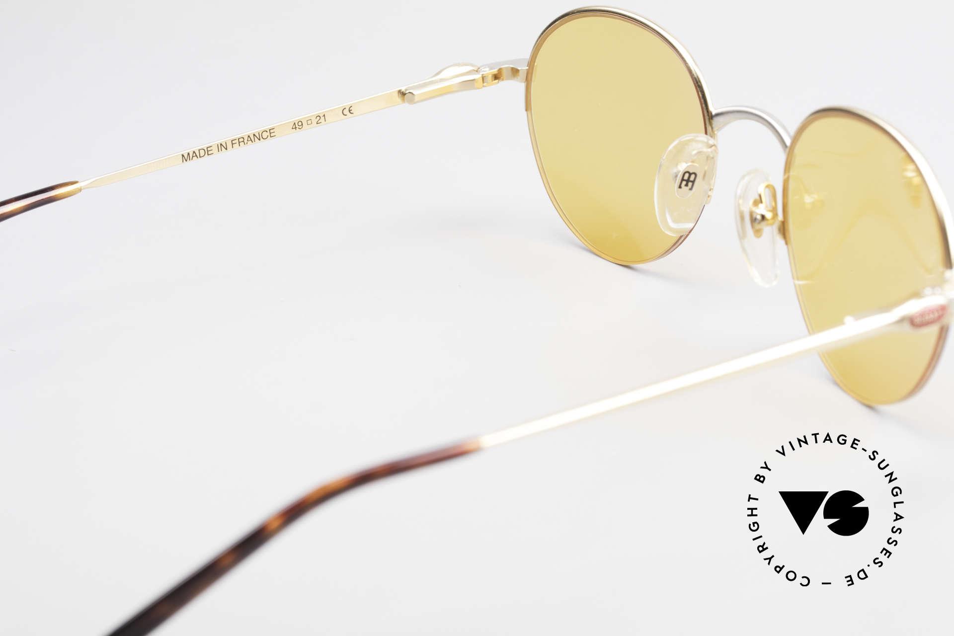 Bugatti 26658 90s Panto Designer Sunglasses, NO RETRO shades, but a precious old original; vertu!, Made for Men
