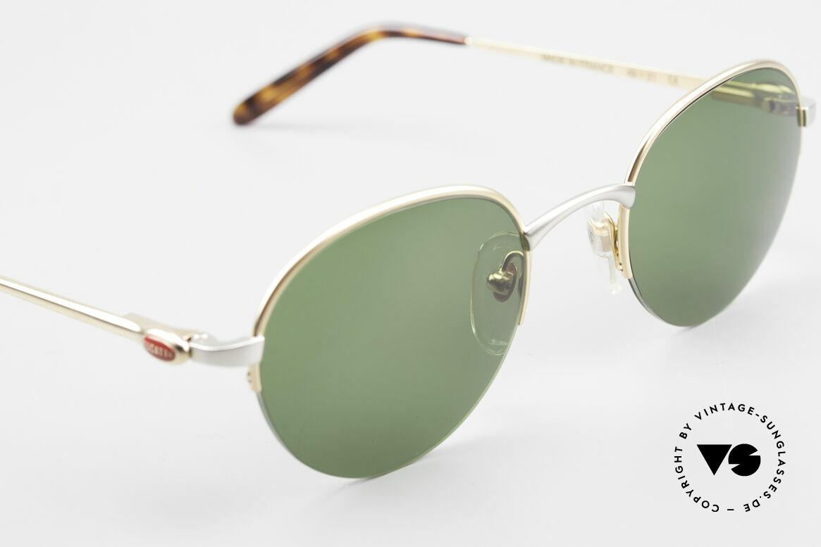 Bugatti 26658 Rare Panto Designer Shades, unworn (like all our rare vintage Bugatti sunglasses), Made for Men