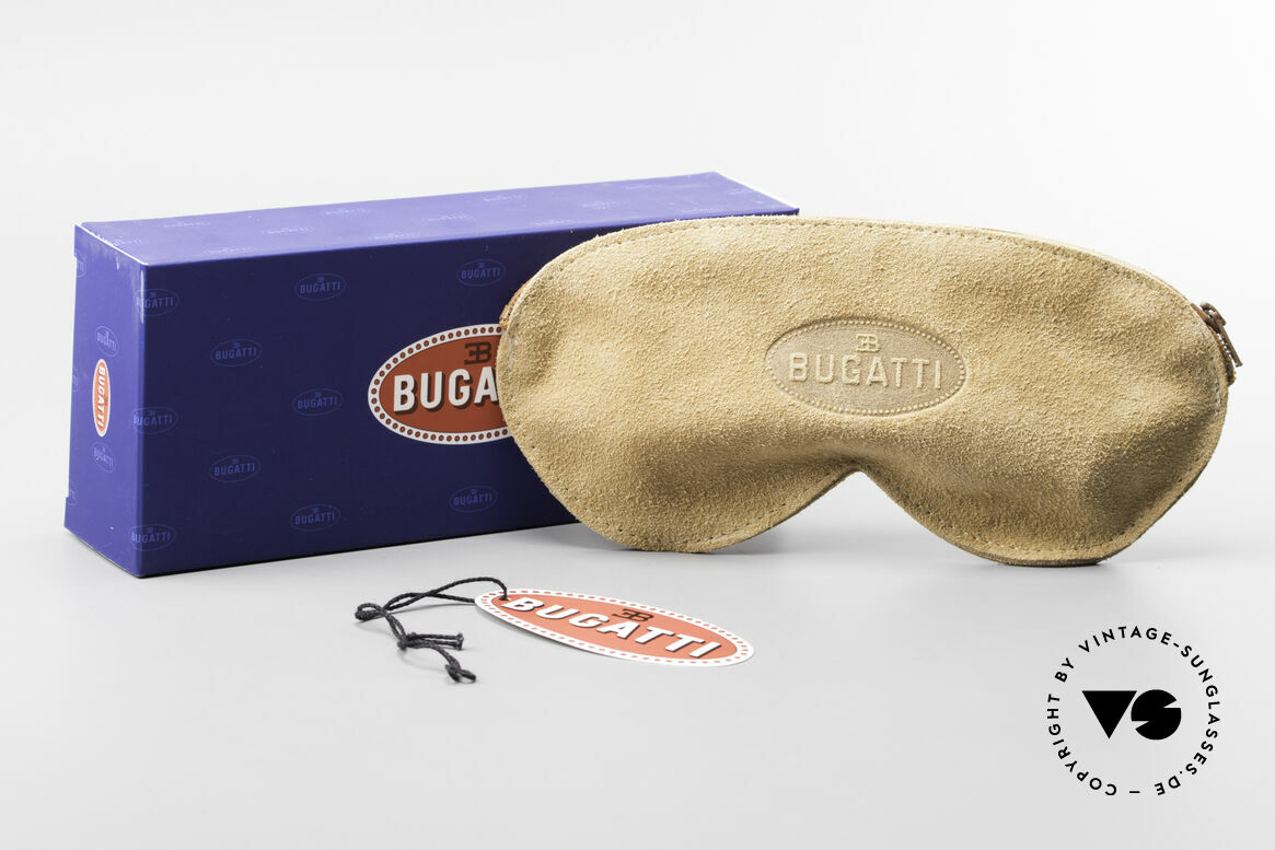 Bugatti 26669 Rare Bugatti Panto Sunglasses, Size: medium, Made for Men