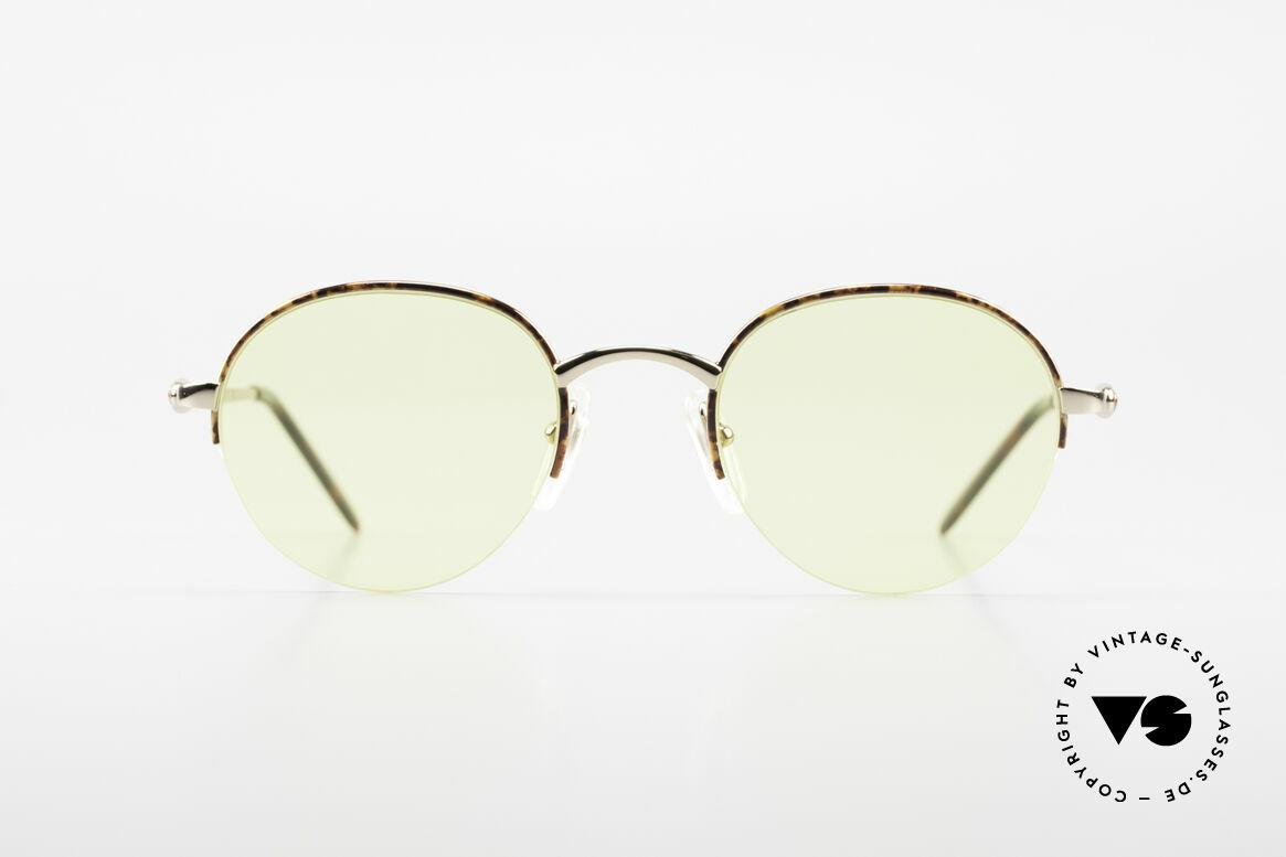 Bugatti 26612 Rare 90s Bugatti Panto Glasses, a Panto frame design is very hard to find at Bugatti, Made for Men