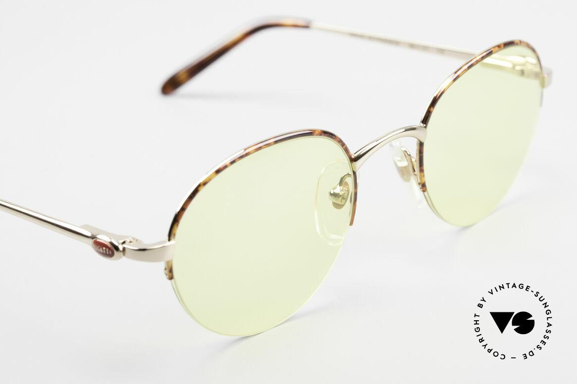Bugatti 26612 Rare 90s Bugatti Panto Glasses, unworn (like all our rare vintage Bugatti sunglasses), Made for Men