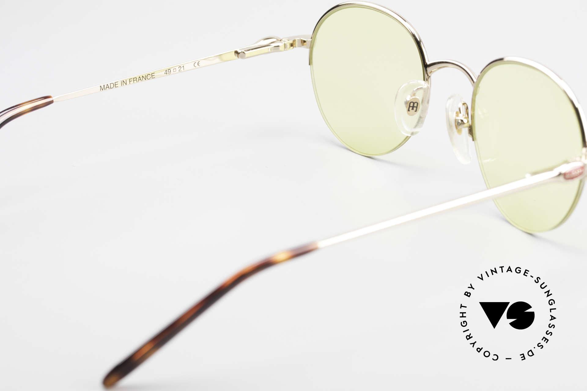 Bugatti 26612 Rare 90s Bugatti Panto Glasses, NO RETRO shades, but a precious old original; vertu!, Made for Men