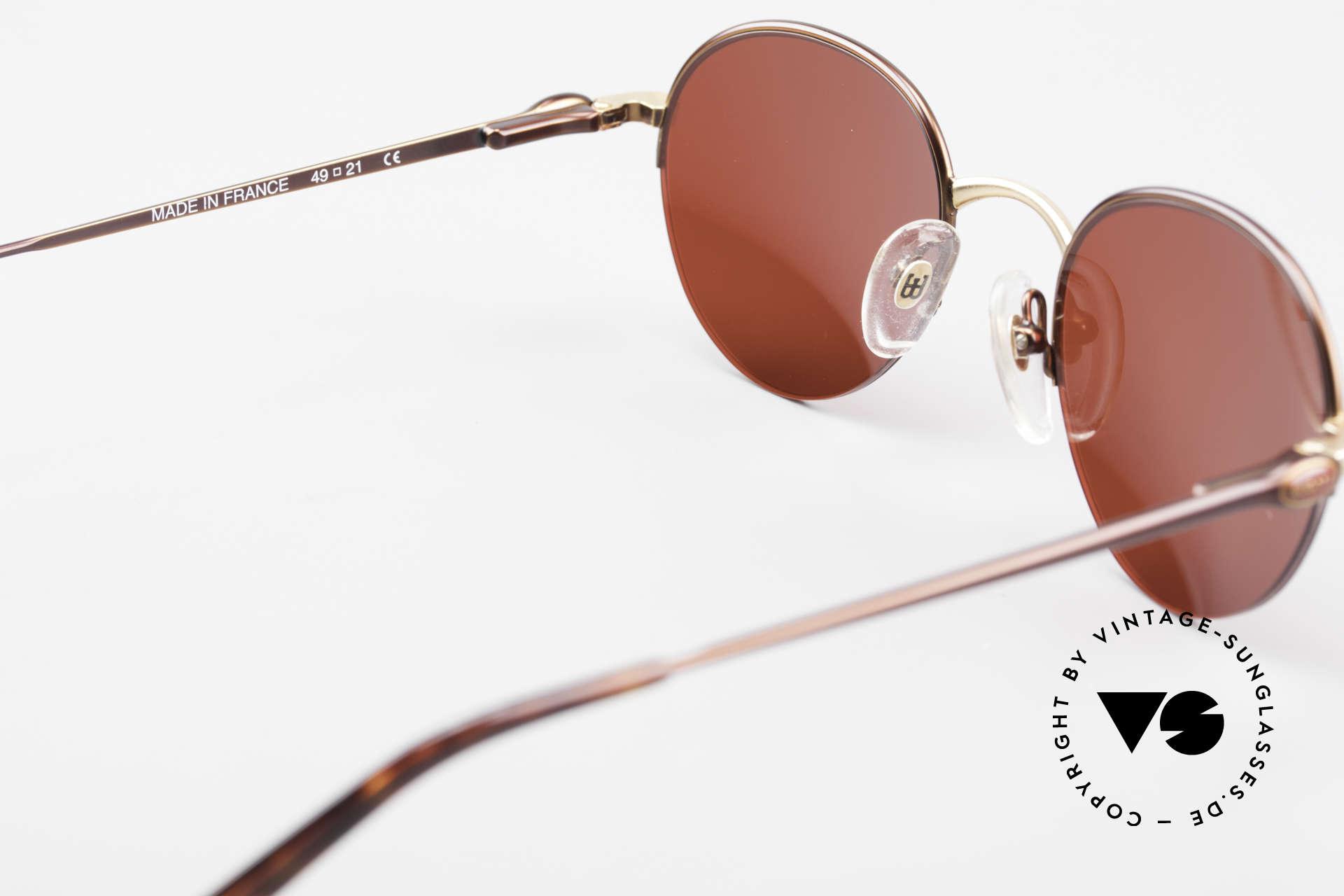 Bugatti 26619 Round Bugatti Panto Glasses, NO RETRO shades, but a precious old original; vertu!, Made for Men