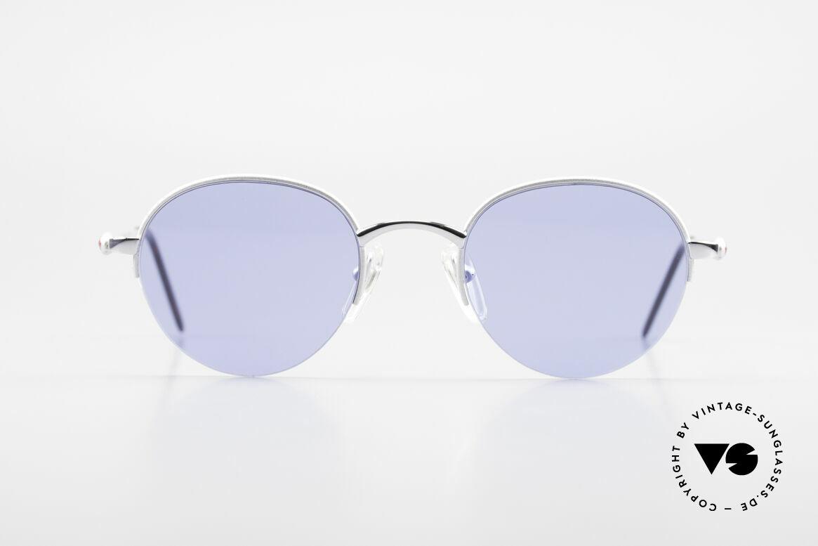 Bugatti 26670 Round Panto Bugatti Glasses, a Panto frame design is very hard to find at Bugatti, Made for Men