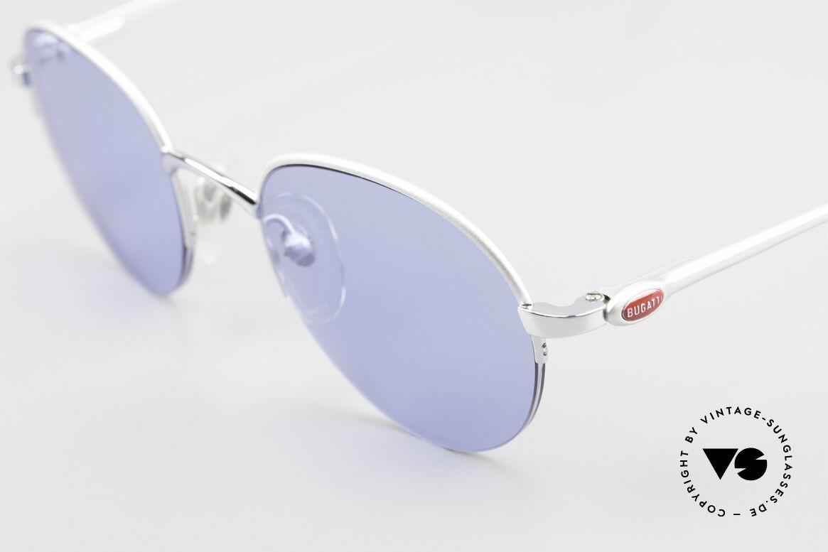 Bugatti 26670 Round Panto Bugatti Glasses, TOP-notch quality, made in France, around 1996/97, Made for Men