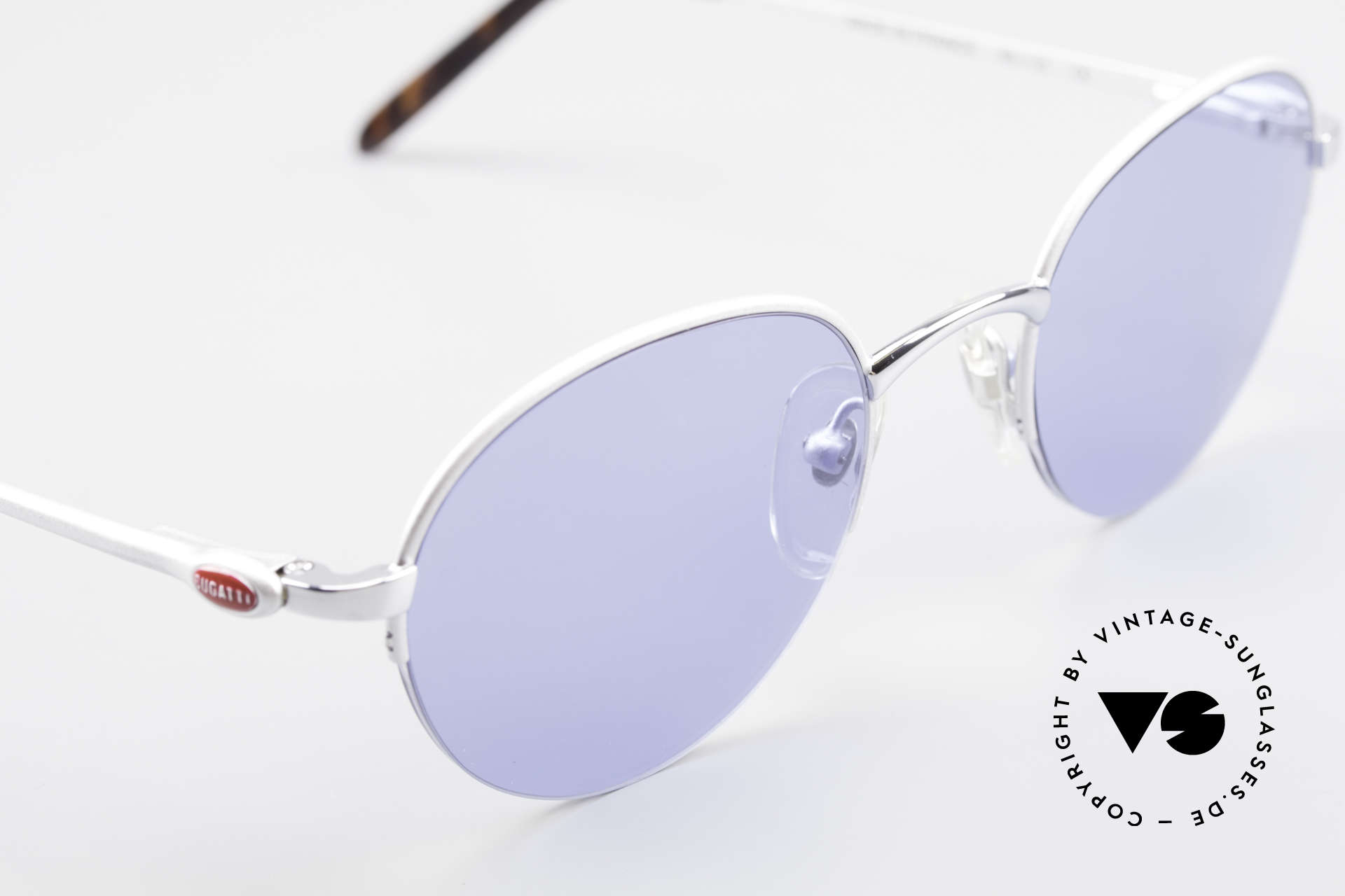 Bugatti 26670 Round Panto Bugatti Glasses, unworn (like all our rare vintage Bugatti sunglasses), Made for Men