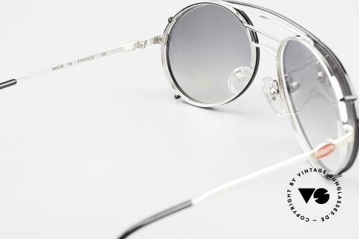 Bugatti 65536 Vintage Glasses with Sun Clip, NO RETRO shades, but a true old 80's ORIGINAL, Made for Men