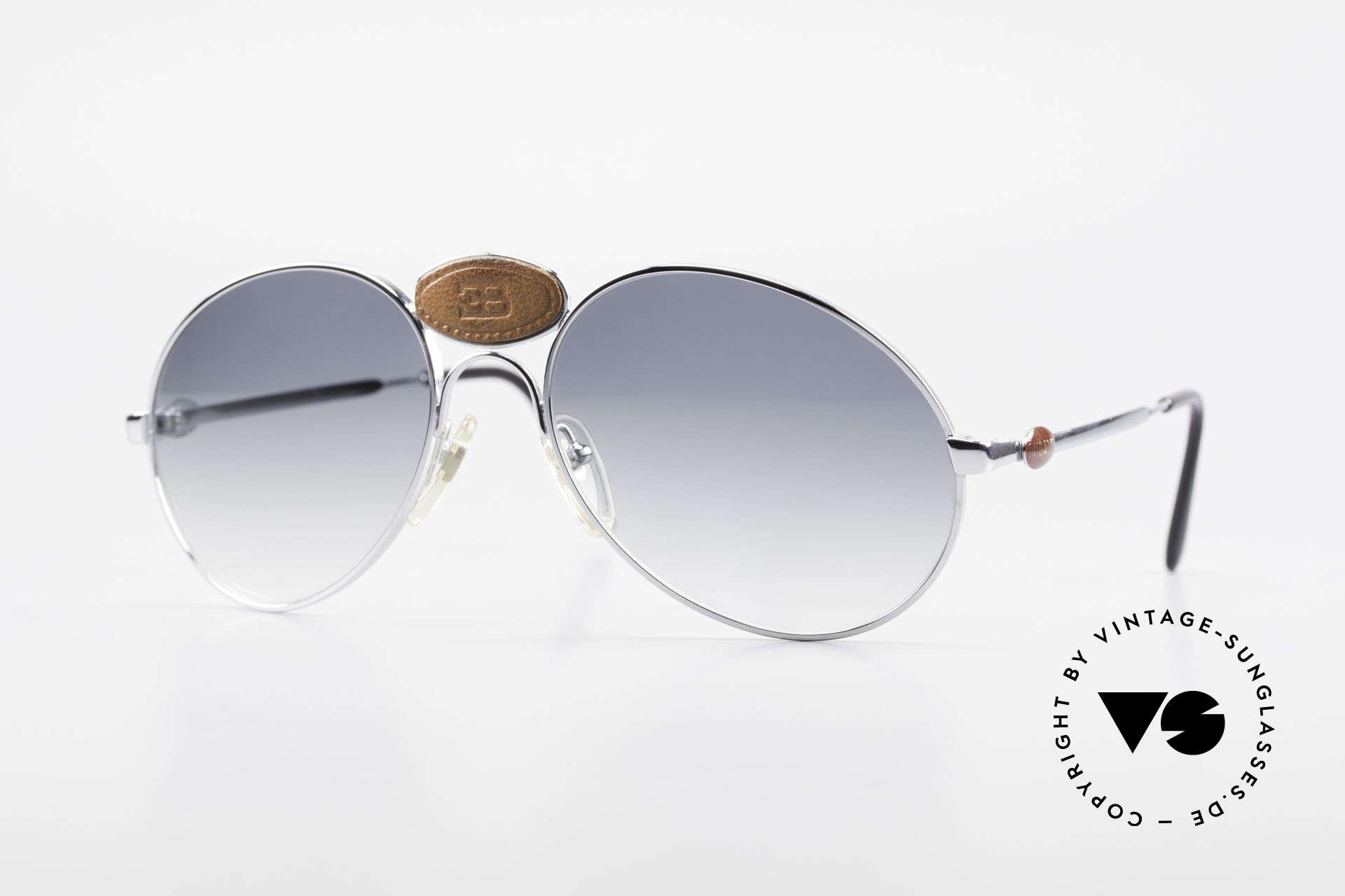 Bugatti 64745 Rare Collector's Sunglasses, 64745: extremely rare vintage sunglasses by Bugatti, Made for Men