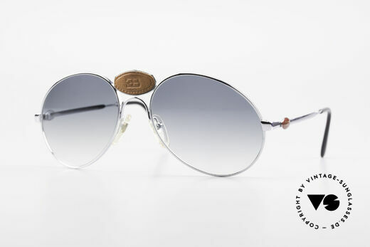 Bugatti 64745 Rare Collector's Sunglasses Details