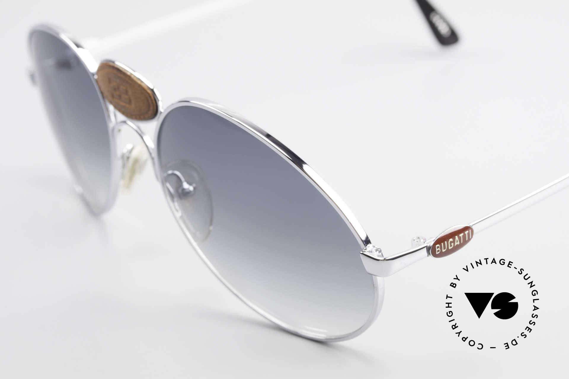 Bugatti 64745 Rare Collector's Sunglasses, never worn (like all our old 70's Bugatti sunglasses), Made for Men