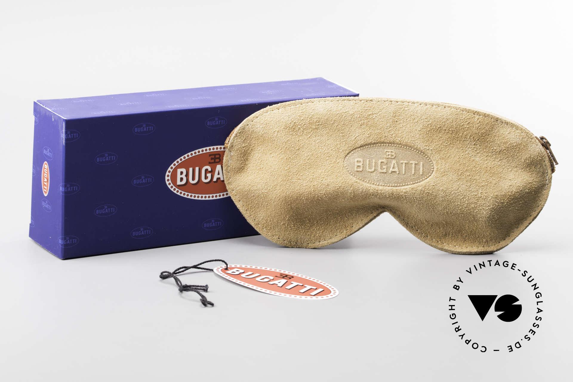 Bugatti 64745 Rare Collector's Sunglasses, Size: large, Made for Men