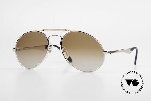 Bugatti 11909 80's Luxury Sunglasses Men Details