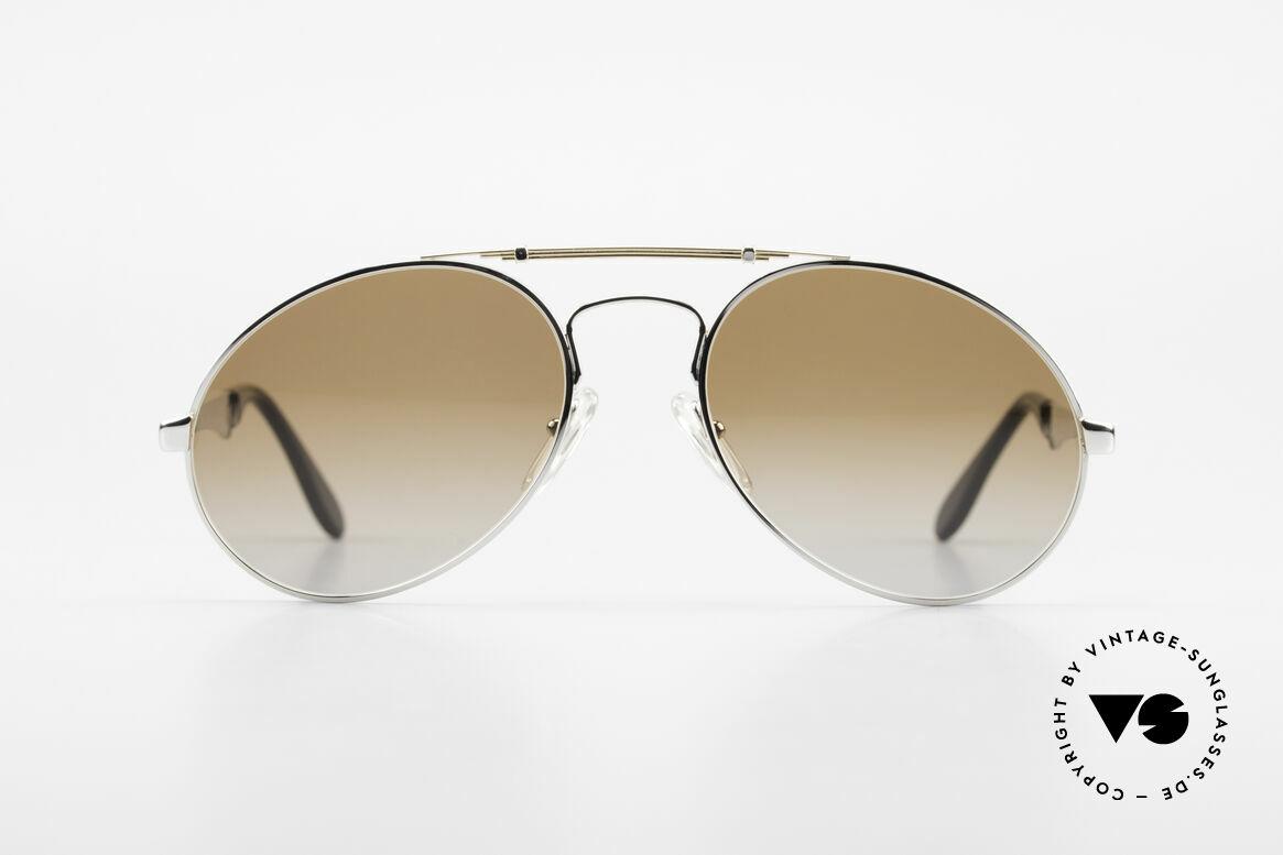 Bugatti 11909 80's Luxury Sunglasses Men, the Bugatti CLASSIC par excellence, a legend!, Made for Men