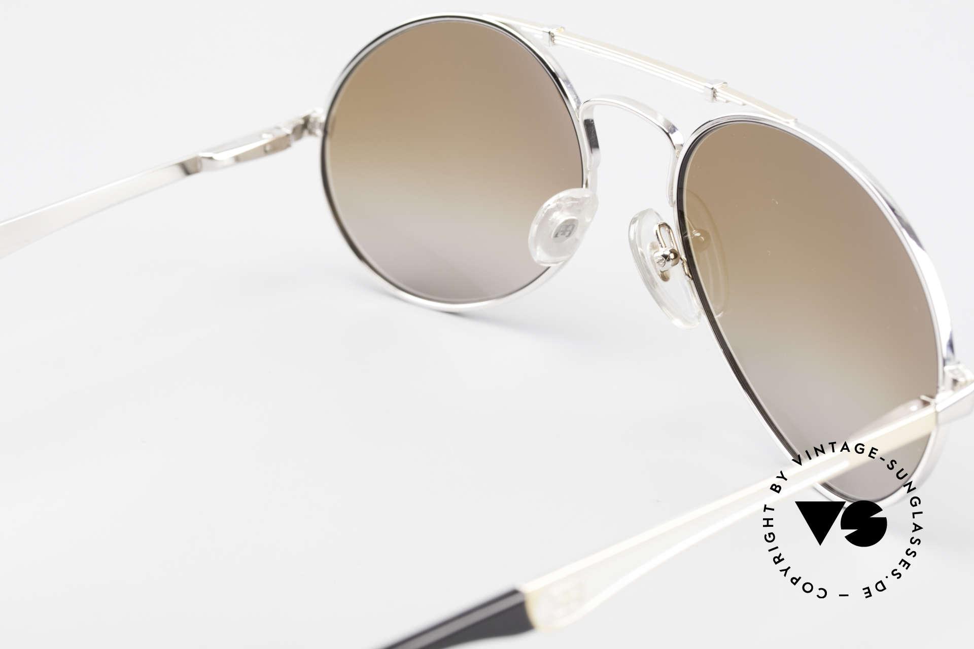 Bugatti 11909 80's Luxury Sunglasses Men, NO RETRO sunglasses; but a costly 80's Original!, Made for Men