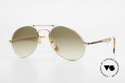 Bugatti 11901 Men's 80's Luxury Sunglasses Details
