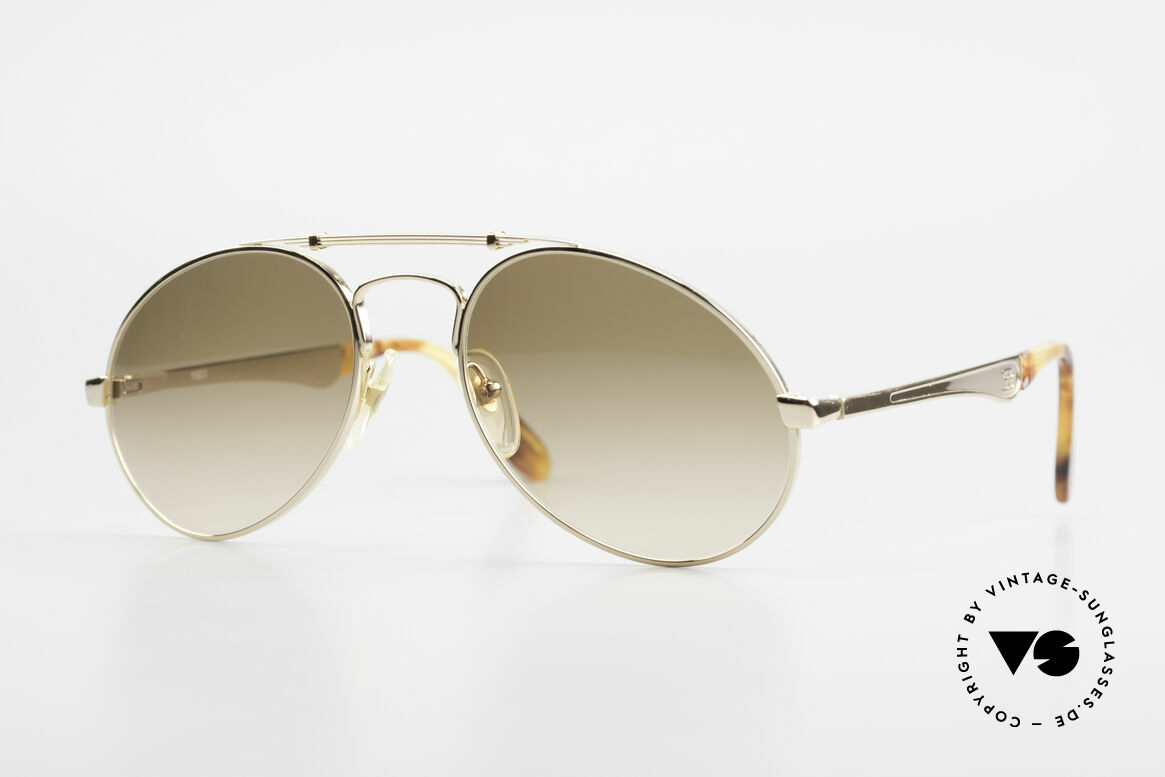 Bugatti 11901 Men's 80's Luxury Sunglasses