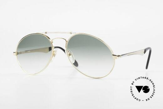 Bugatti 11908 80's Luxury Sunglasses XLarge Details