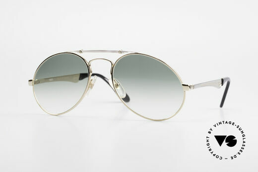 Bugatti 11908 Large 80's Luxury Sunglasses Details