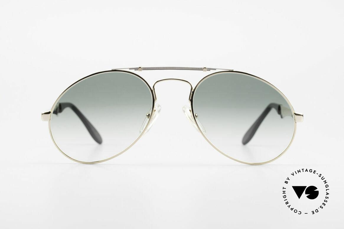 Bugatti 11908 Large 80's Luxury Sunglasses, the Bugatti CLASSIC par excellence, a legend!, Made for Men