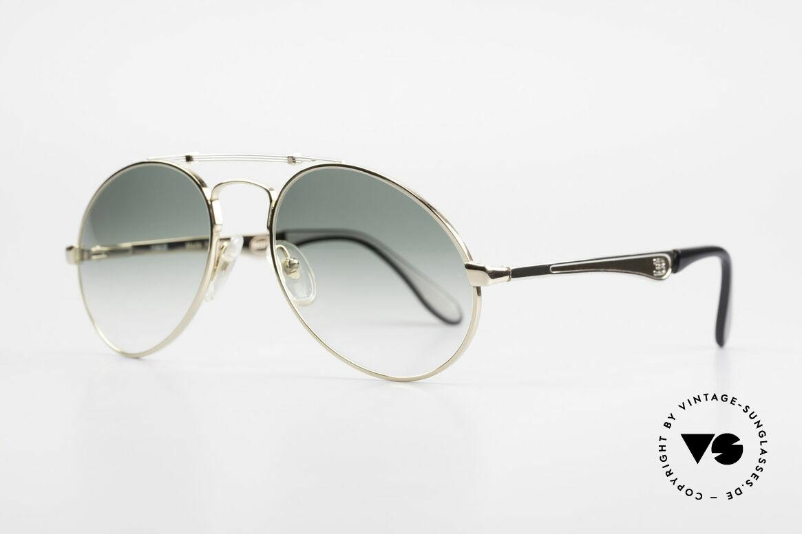 Bugatti 11908 Large 80's Luxury Sunglasses, no tear drop, no aviator, but just Bugatti shape, Made for Men