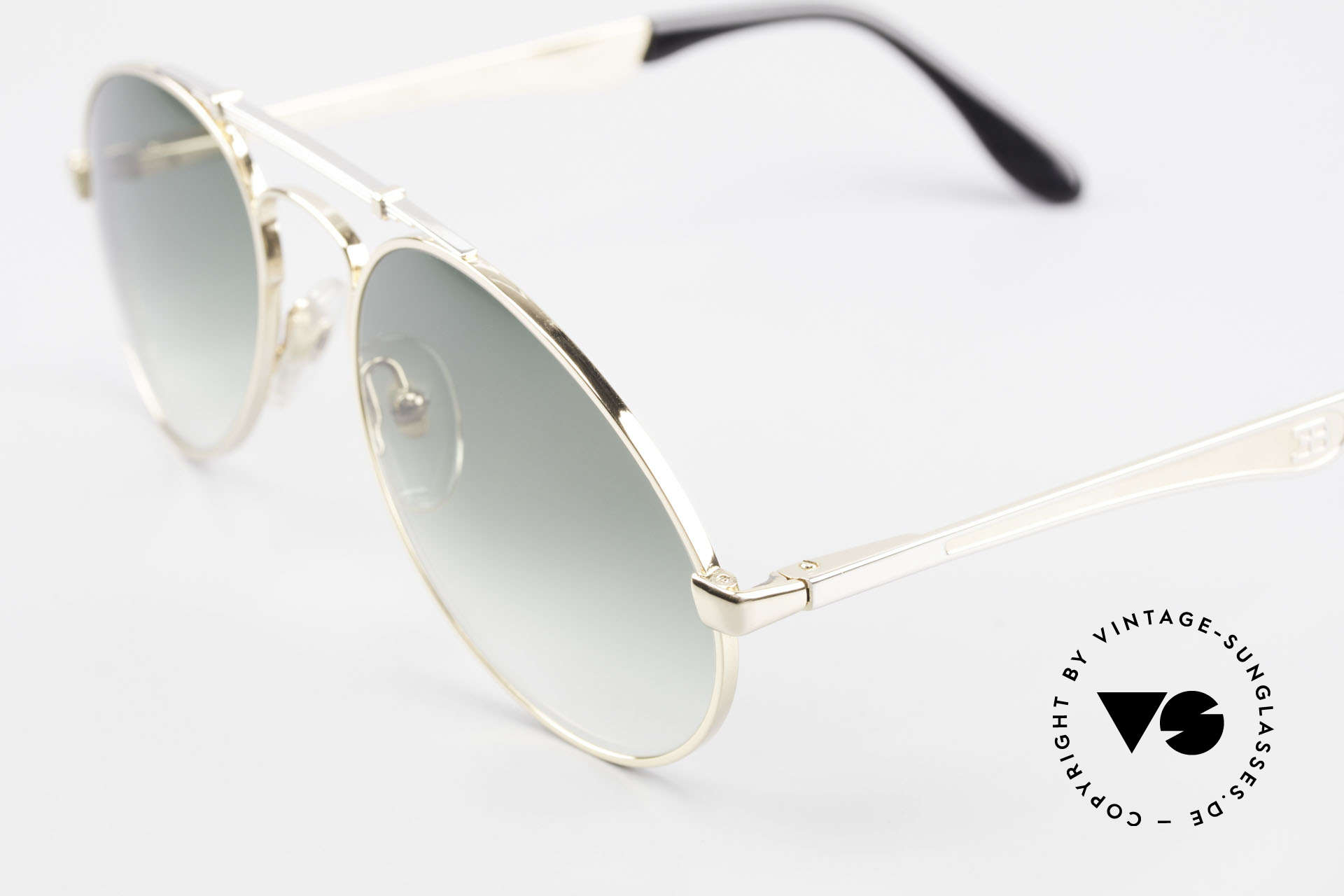 Bugatti 11908 Large 80's Luxury Sunglasses, a very noble unworn model (with orig. packing), Made for Men