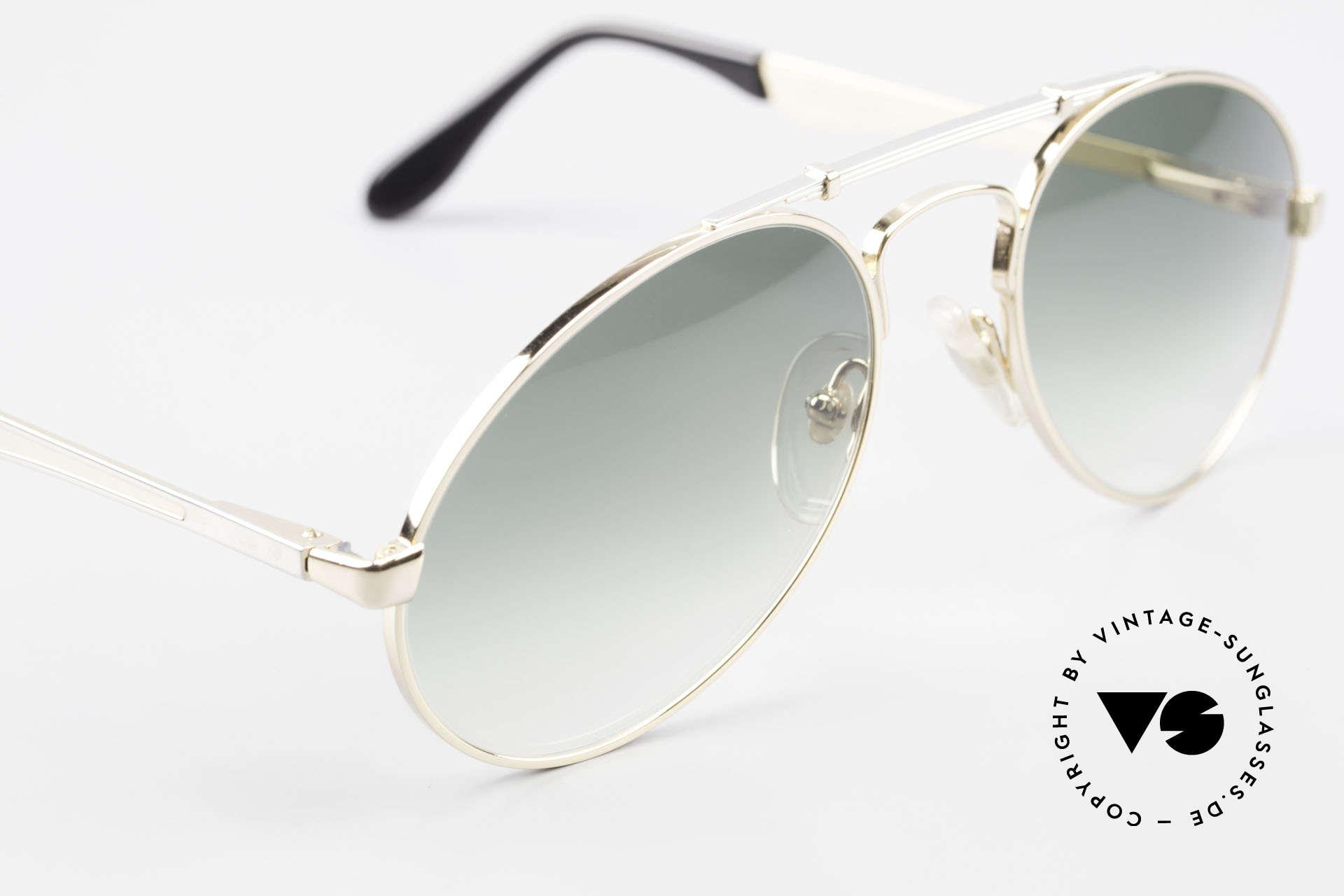 Bugatti 11908 Large 80's Luxury Sunglasses, NO RETRO sunglasses; but a costly 80's Original!, Made for Men