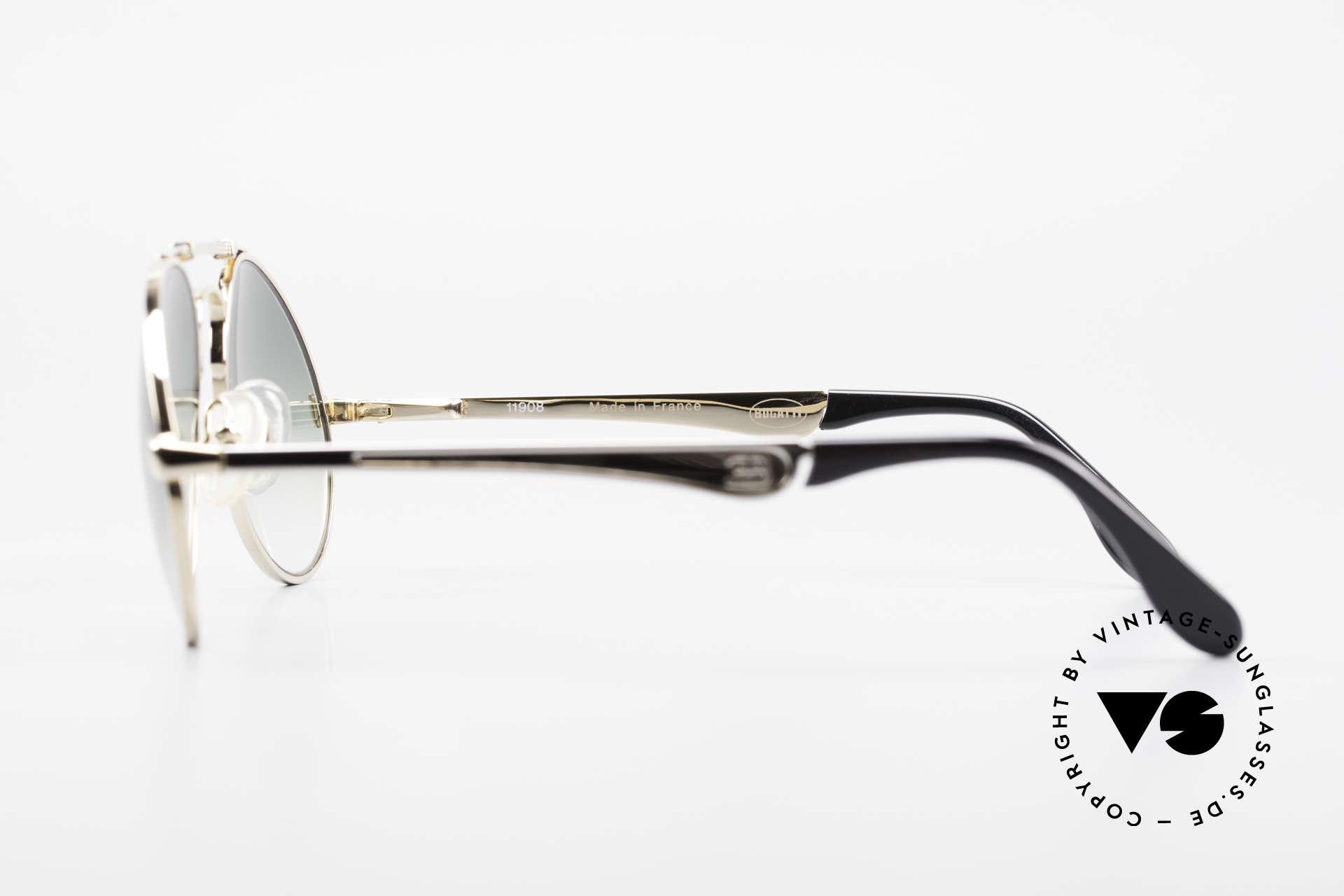 Bugatti 11908 Large 80's Luxury Sunglasses, Size: large, Made for Men