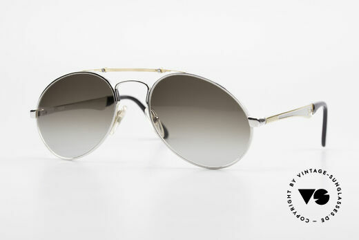 Bugatti 11909 80's Luxury Sunglasses Large Details