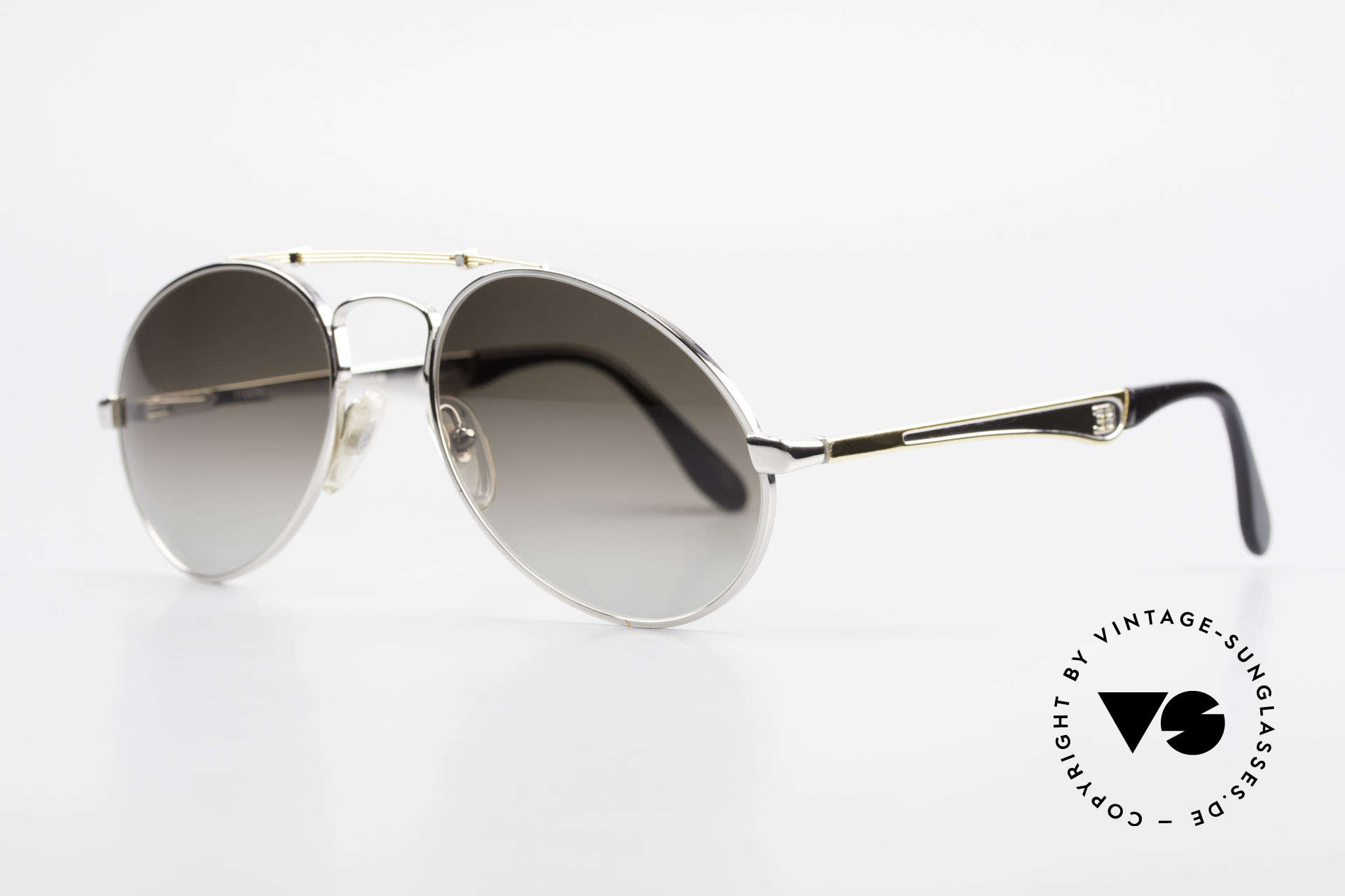 Bugatti 11909 80's Luxury Sunglasses Large, no tear drop, no aviator, but just Bugatti shape, Made for Men