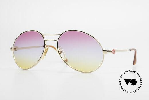 Bugatti 64335 Extraordinary 80's Sunglasses Details