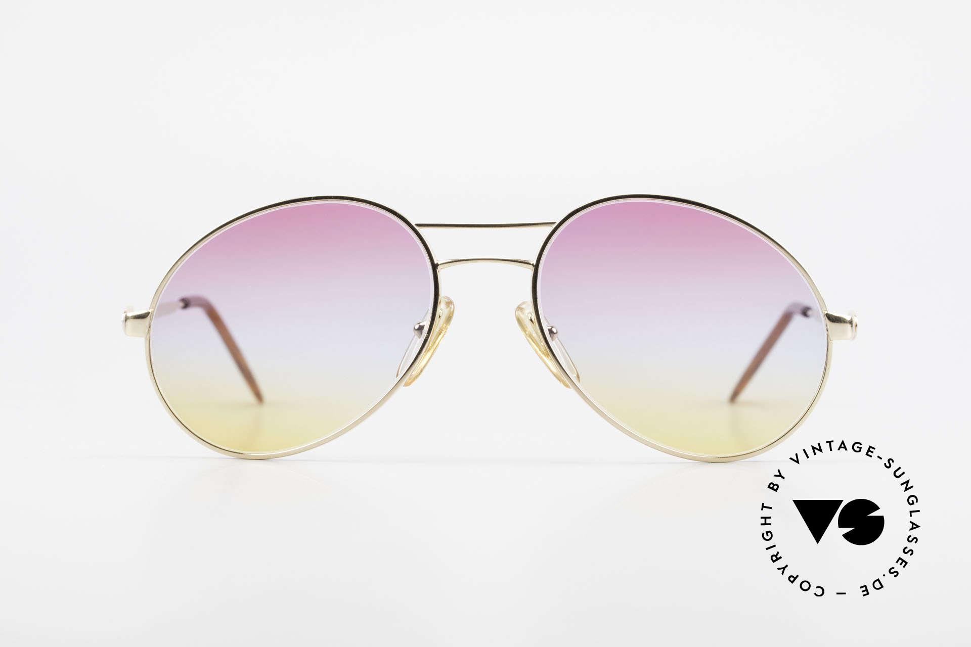 Bugatti 64335 Extraordinary 80's Sunglasses, extraordinary frame design (simply striking), Made for Men