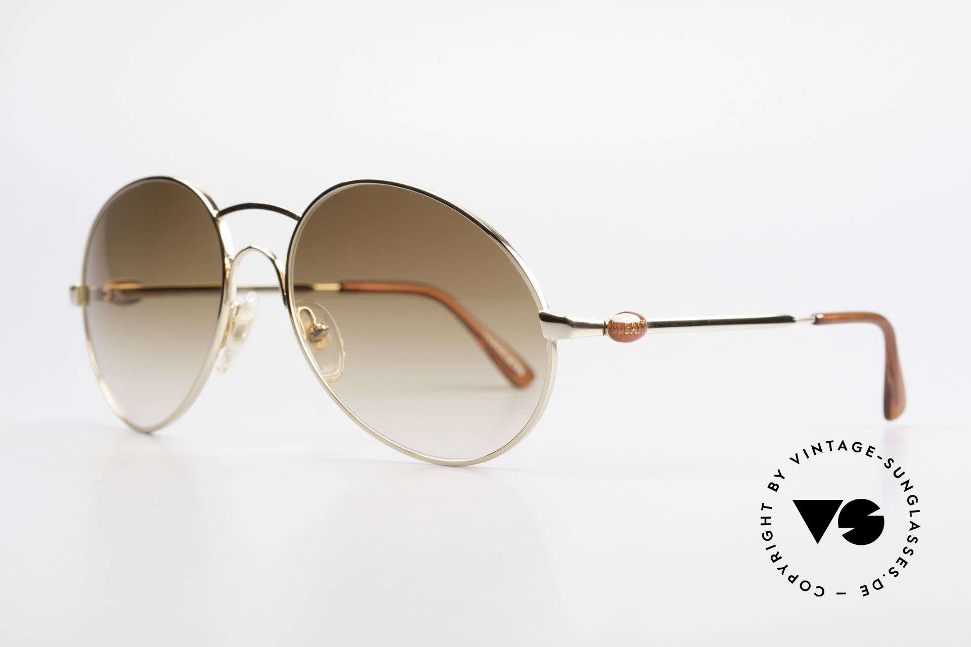 Bugatti 64947 Original 1980's XL Sunglasses, French premium craftsmanship; 100% UV protection, Made for Men