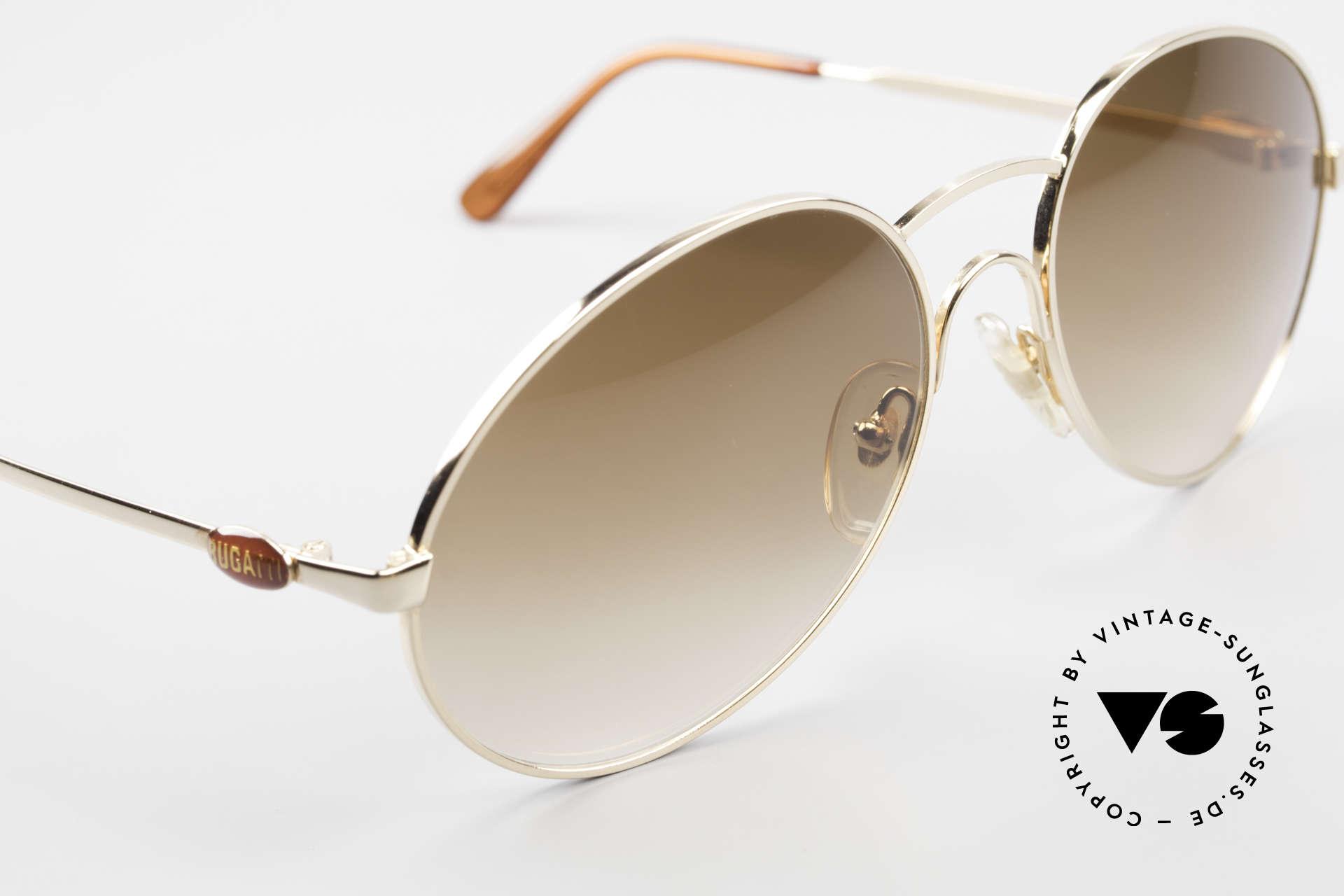 Bugatti 64947 Original 1980's XL Sunglasses, unworn (like all our vintage 1980's BUGATTI shades), Made for Men